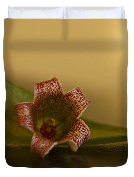 Bottle Tree Flower Duvet Cover