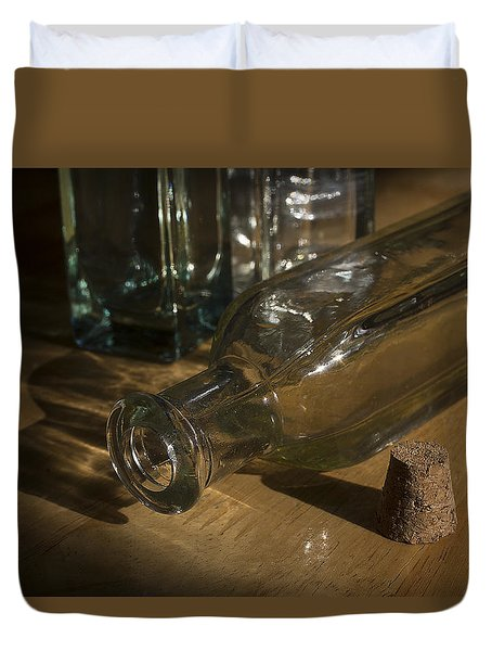 Bottles And Cork 1002 Duvet Cover