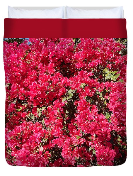 Bougainvillas 2 Duvet Cover