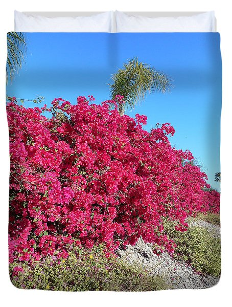 Bougainvillas 3 Duvet Cover