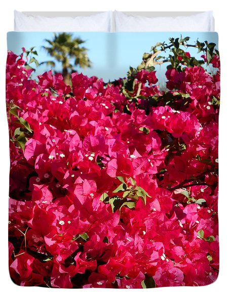 Bougainvillas 4 Duvet Cover