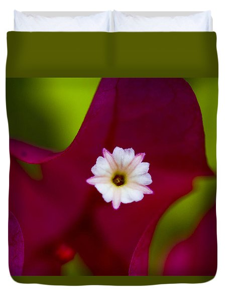 Bougainvillea Duvet Cover by Marlo Horne