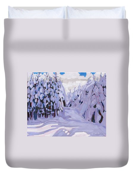 Boughs Before The Wind Duvet Cover