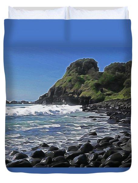 Boulder Beach Duvet Cover by Dennis Cox WorldViews