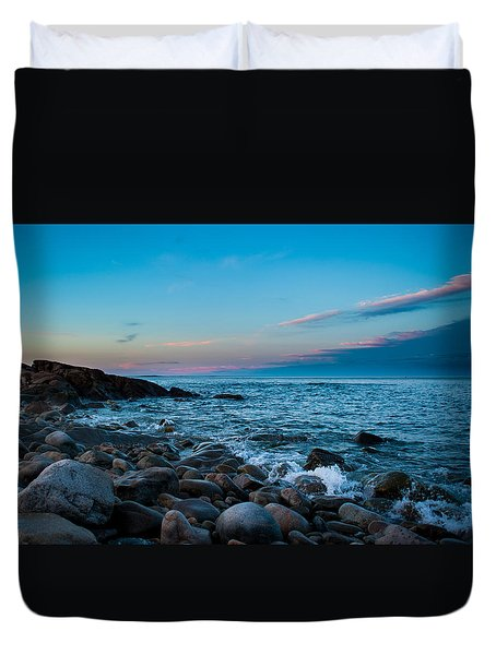 Boulder Beach Duvet Cover
