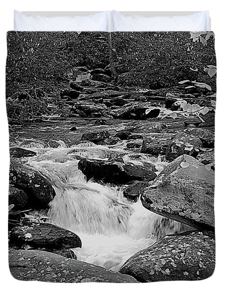 Boulder Creek Duvet Cover by DigiArt Diaries by Vicky B Fuller