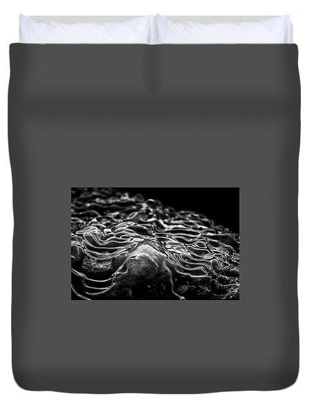 Boulder Point Bw Duvet Cover