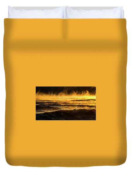 Fire Lake Duvet Cover
