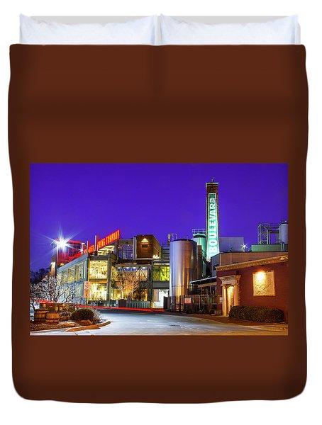 Boulevard Brewing Kansas City Duvet Cover