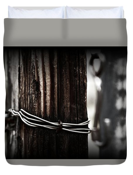 Bound  Duvet Cover