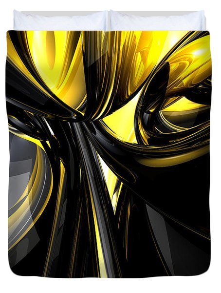 Bounded By Light Abstract Duvet Cover by Alexander Butler