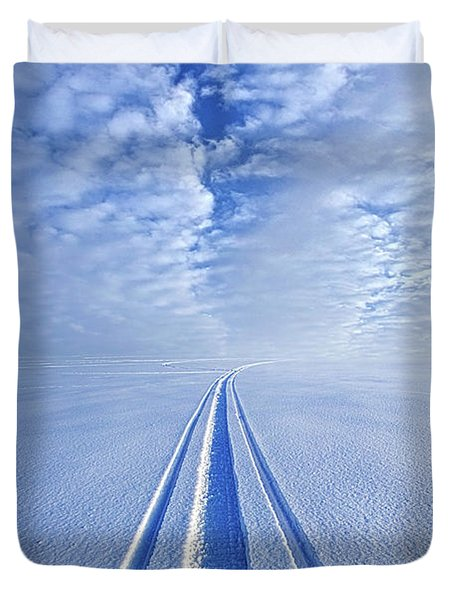 Duvet Cover featuring the photograph Boundless Infinitude by Phil Koch