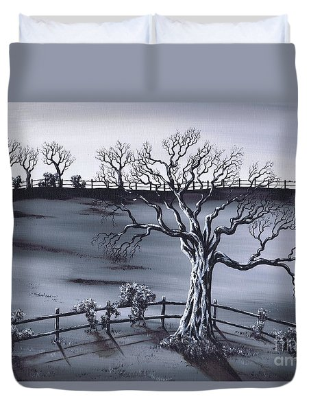 Boundries Duvet Cover