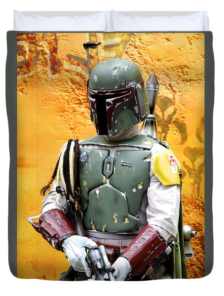 Bounty Hunter Duvet Cover