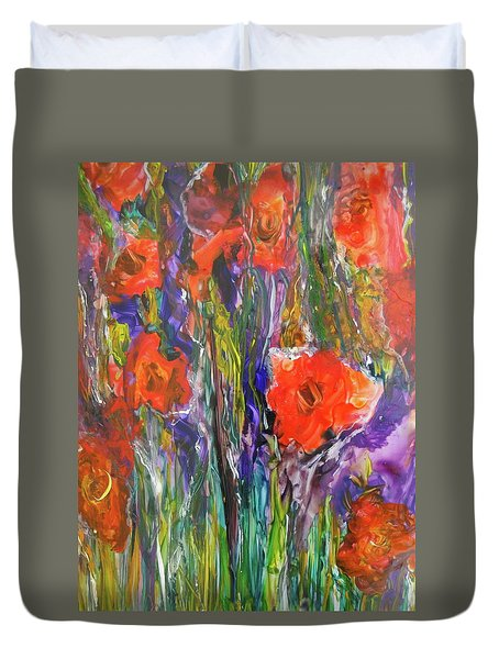Bouquet 2 Duvet Cover