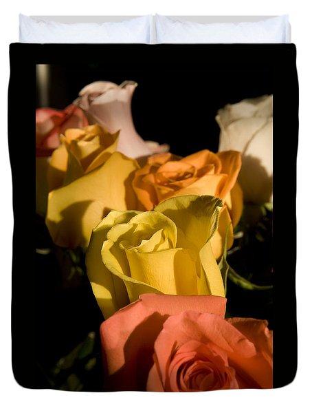 Bouquet In Line Duvet Cover