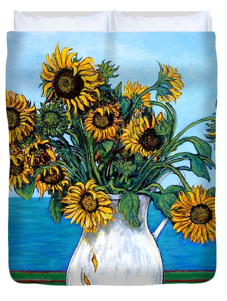 Bouquet Of Beauty Duvet Cover by Tom Roderick
