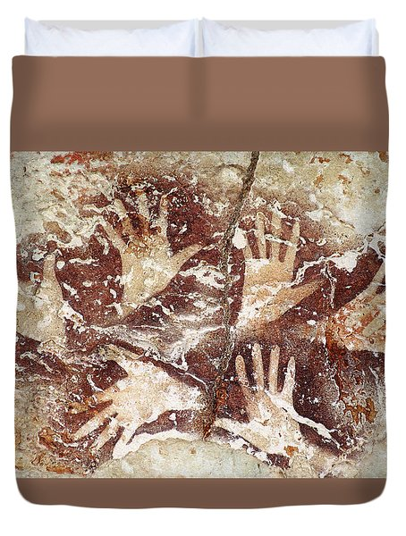 Bouquet Of Hands - Ilas Kenceng Duvet Cover