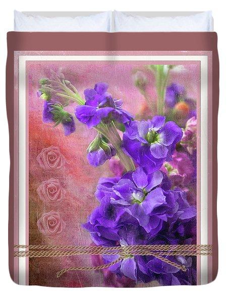 Bouquet Of Hearts Duvet Cover