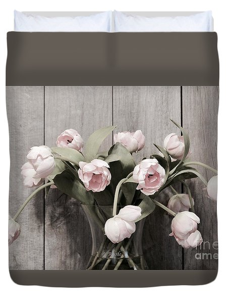 Bouquet Of Tulips Duvet Cover