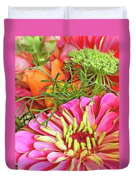 Bouquet Parfait Duvet Cover
