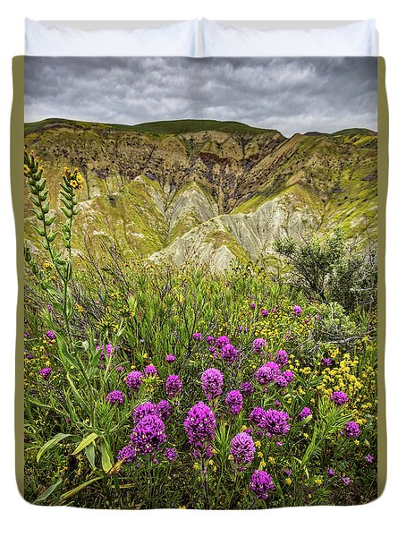 Duvet Cover featuring the photograph Bouquet by Peter Tellone