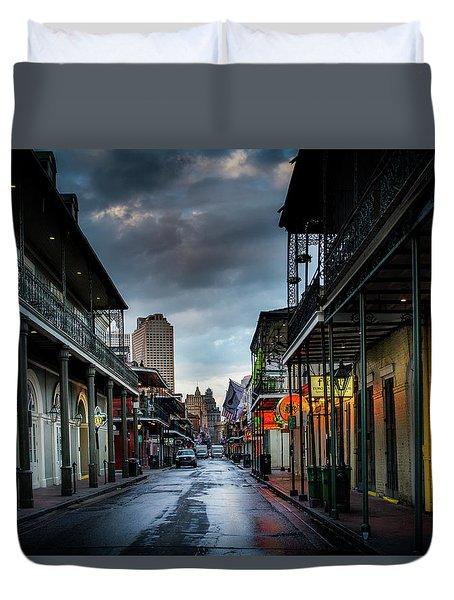 Bourbon Rain Duvet Cover
