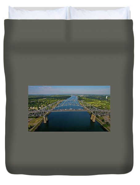 Bourne Bridge, Ma Duvet Cover