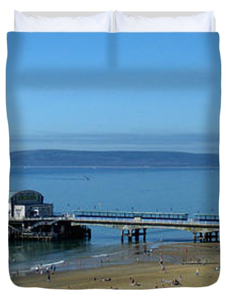 Bournemouth Pier Dorset - May 2010 Duvet Cover