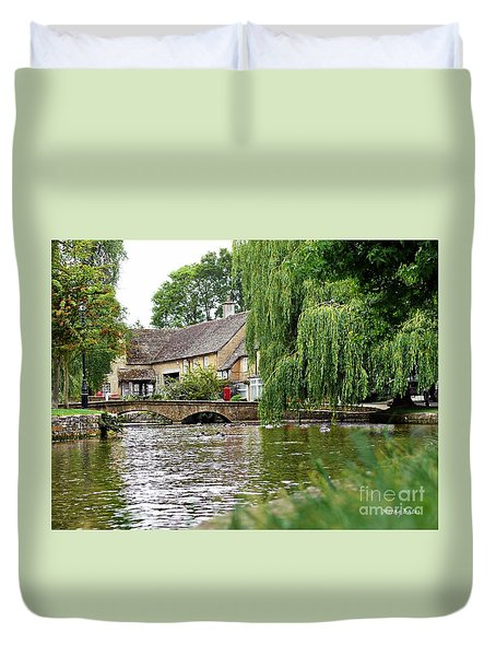 Bourton-on-the-water Duvet Cover