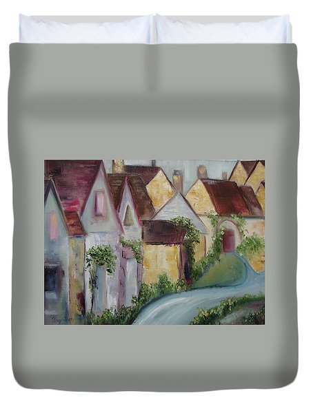 Bourton On The Water Duvet Cover by Roxy Rich