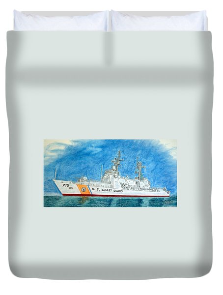 Boutwell-u.s.coast Guard 719 Duvet Cover
