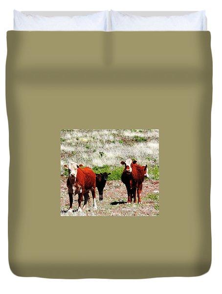 Bovine Duvet Cover