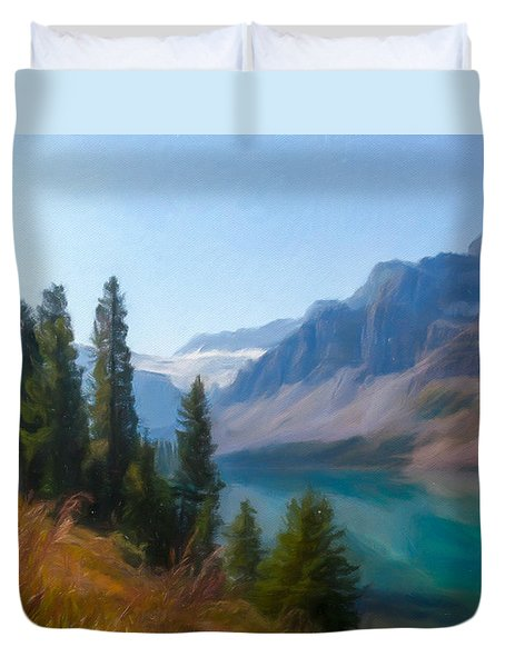 Bow Lake Duvet Cover