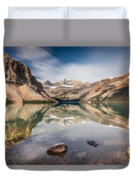 Bow Lake Glorious Reflection Duvet Cover