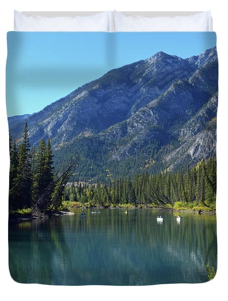 Bow River No. 2-1 Duvet Cover