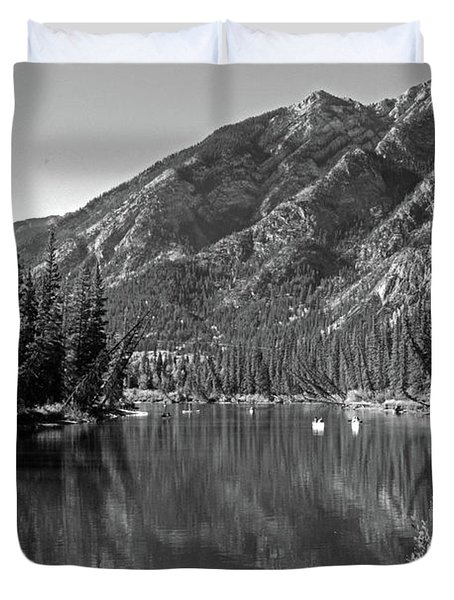 Bow River No. 2-2 Duvet Cover