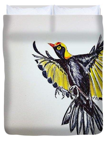Bower Bird Duvet Cover