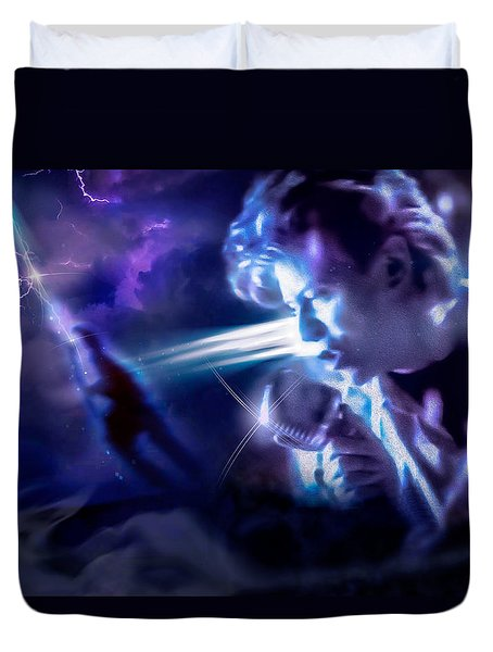 Bowie A Trip To The Stars Duvet Cover