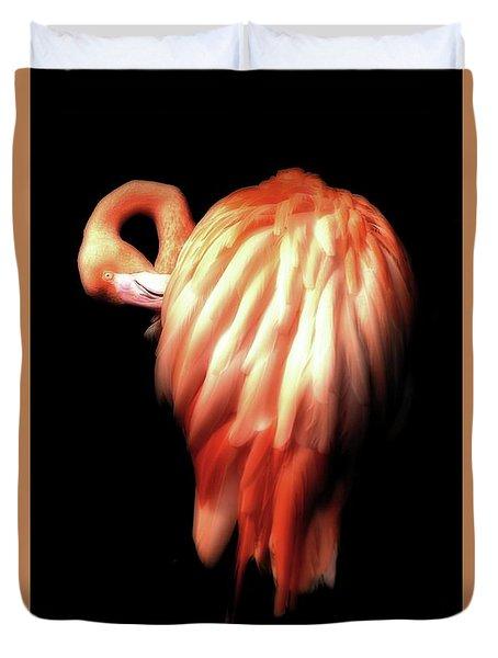 Bowie Flamingo Duvet Cover