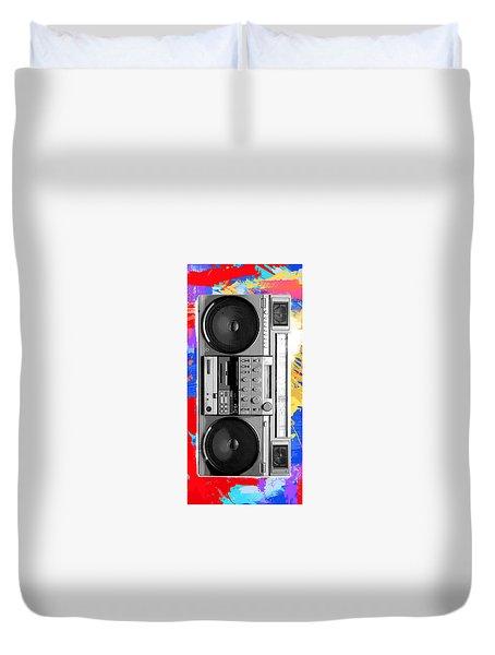 Box Boomin Duvet Cover