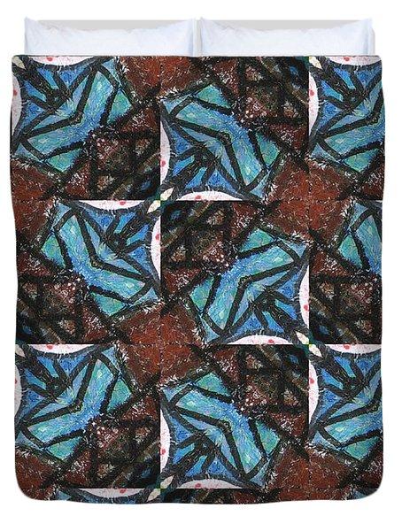 Box Of Chocolates Duvet Cover by Maria Watt