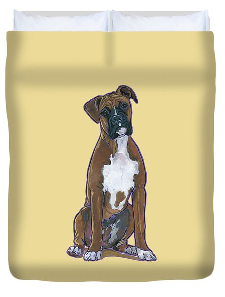 Boxer Bentley Duvet Cover