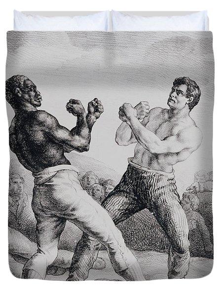 Boxers Duvet Cover