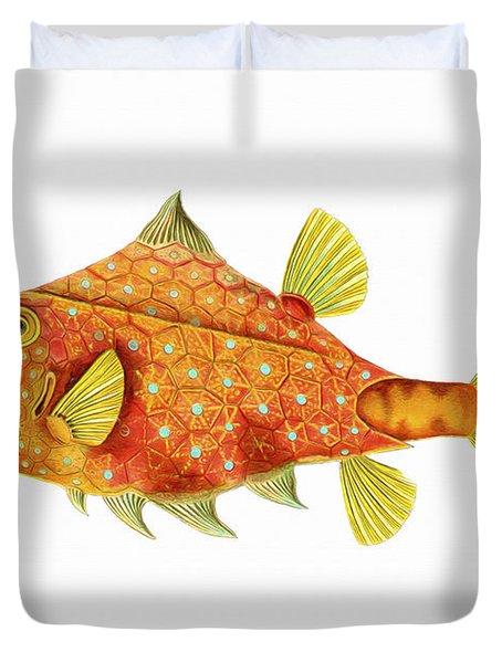 Boxfish Duvet Cover