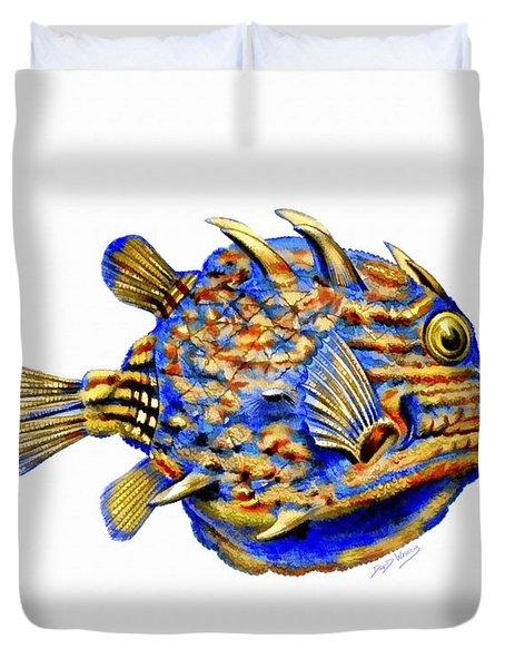 Boxfish II Duvet Cover
