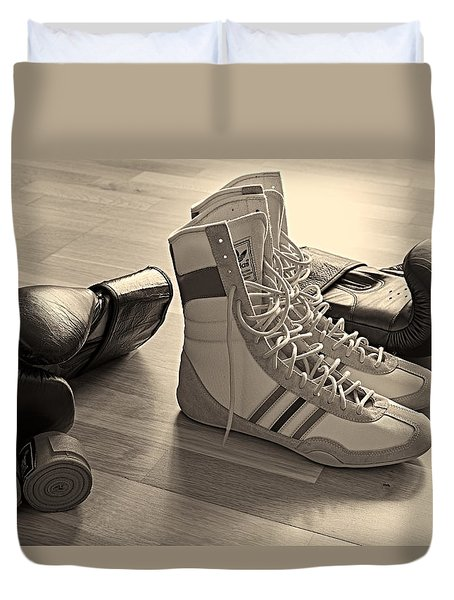 Boxing Duvet Cover