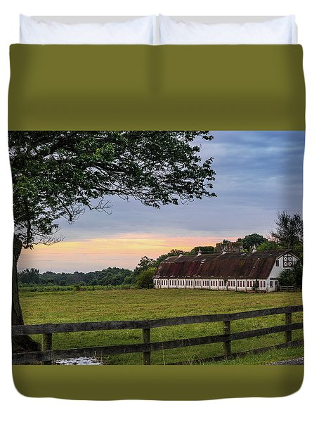 Boxwood Farm Duvet Cover