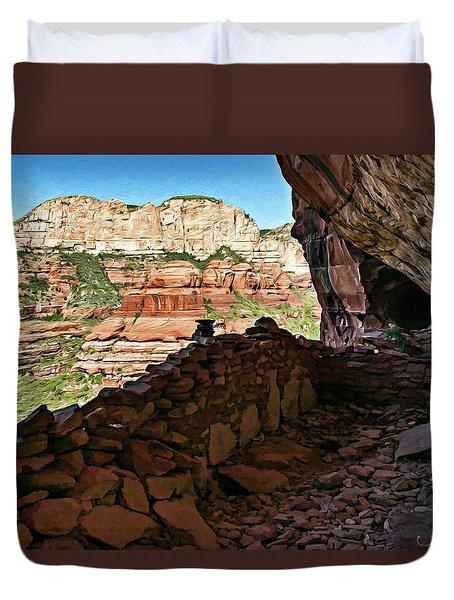 Boynton Canyon 05-1019 Duvet Cover by Scott McAllister