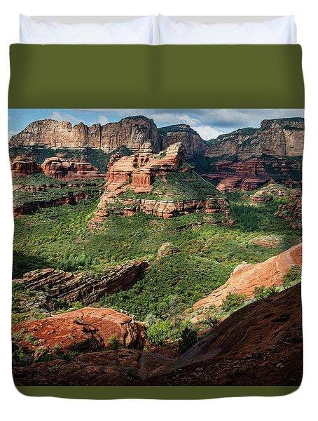 Boynton Canyon 05-942 Duvet Cover by Scott McAllister